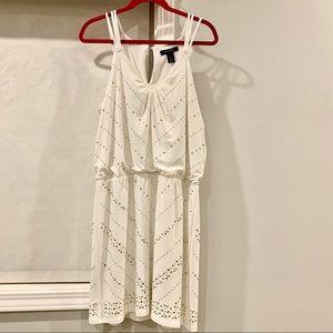 White House Black Market Size Large white dress